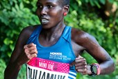 Aliphine Tuliamuk running