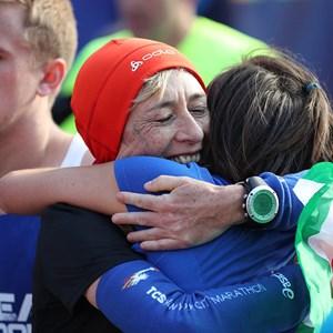 Finishers of the 2016 TCS New York City Marathon.